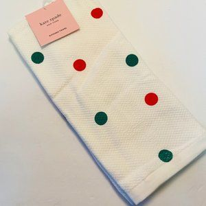 KATE SPADE Christmas Kitchen Towels- Set of 2